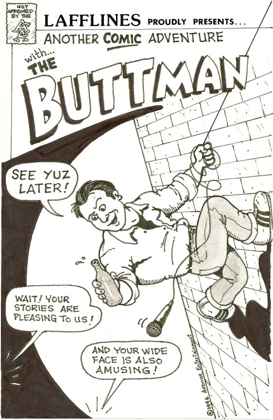 Buttman Drawing 1996